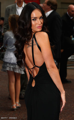 Megan Fox at Transformers 2 premiere in London