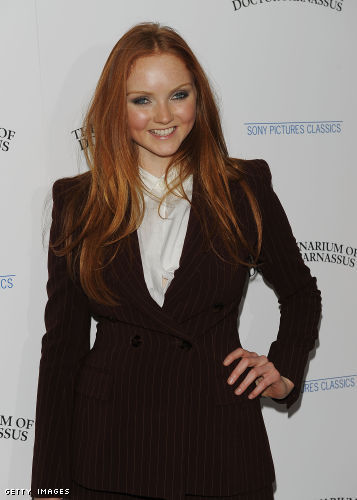 lily cole parnassus. Lily Cole at the Premiere of