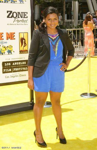 The Beauty Buff Blog The Office S Mindy Kaling At The Despicable Me Premiere
