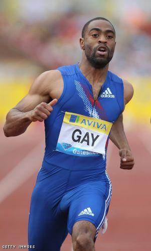 Tyson gay beats bolt