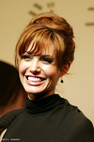 angelina jolie hair color. Angelina Jolie - Lighter Hair