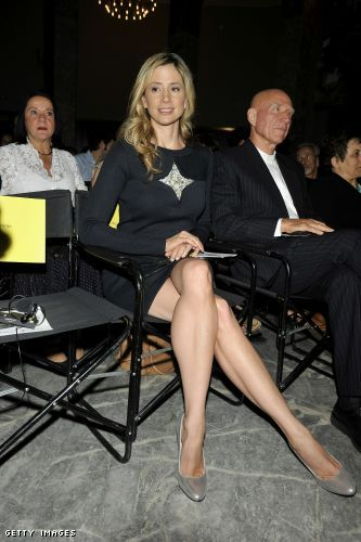 Madrid spain september 28 actress mira sorvino attends save the