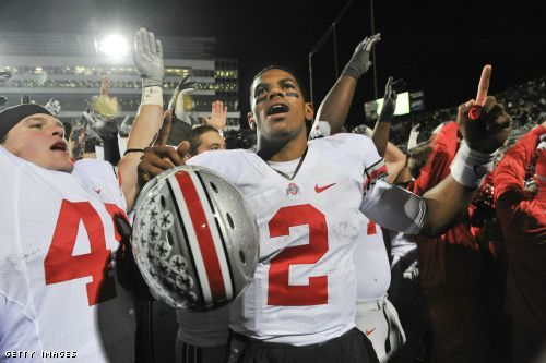 Ohio State quarterback Terrelle Pryor and four other Buckeyes were suspended