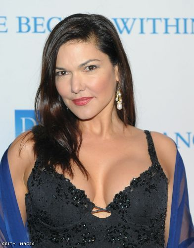 Laura Elena Harring cleavage