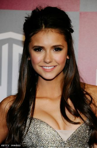 Nina Dobrev cleavage