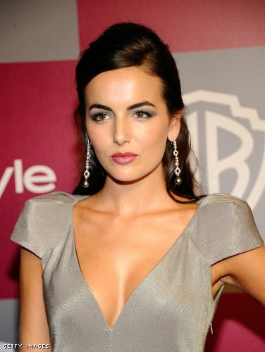 Camilla Belle cleavage