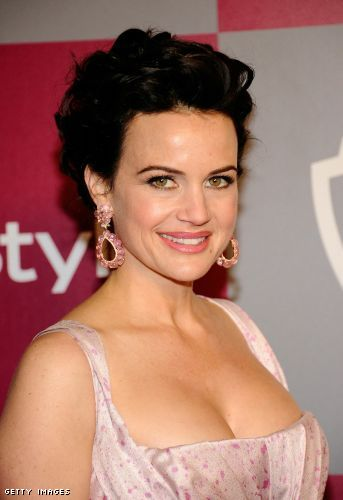Carla Gugino cleavage