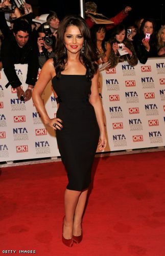 cheryl cole little black dress