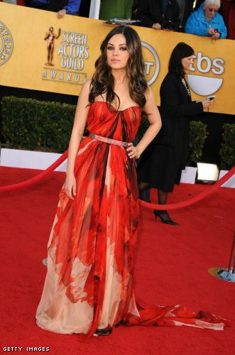Mila Kunis - SAG awards