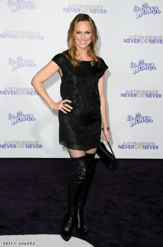 Melora Hardin little black dress
