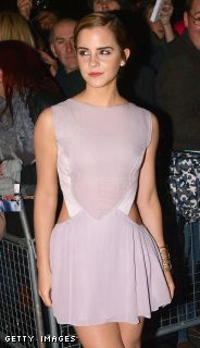 Emma wears Hakaan @ the Elle Style Awards