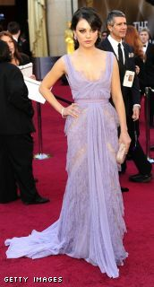 Mila Kunis in Elie Saab @ the Academy Awards