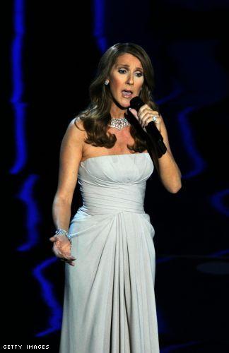 Celine Dion Oscars