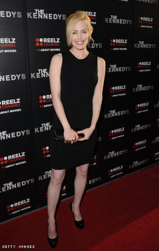 Charlotte Sullivan in high heels