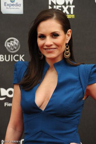 Kara DioGuardi cleavage