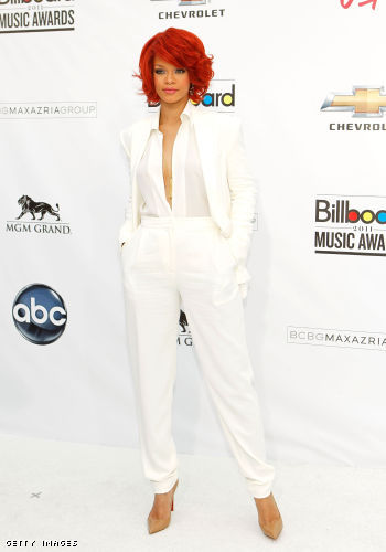 Rihanna arives @ the Billboard Music Awards