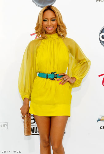 Keri Hilson arrives @ the Billboard Music Awards