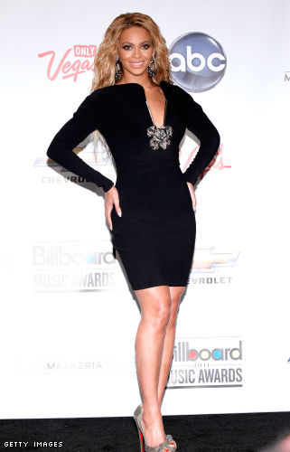 Beyonce arrives at the Billboard Music Awards