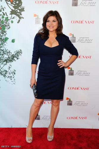 Tiffani Thiessen Cocktail Dress - Tiffani Thiessen Looks - StyleBistro