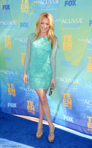 Cat Deeley wears Matthew Williamson @ the 2011 Teen Choice Awards