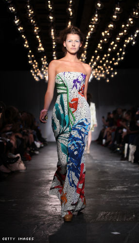 Basso &amp; Brooke Runway - LFW Spring/Summer 2012