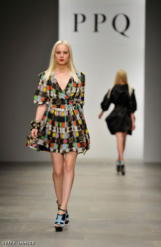 PPQ Runway - LFW Spring/Summer 2012