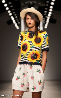 Ashish: Runway - LFW Spring/Summer 2012
