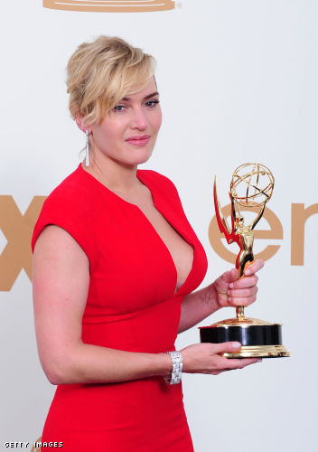 Kate Winslet cleavage