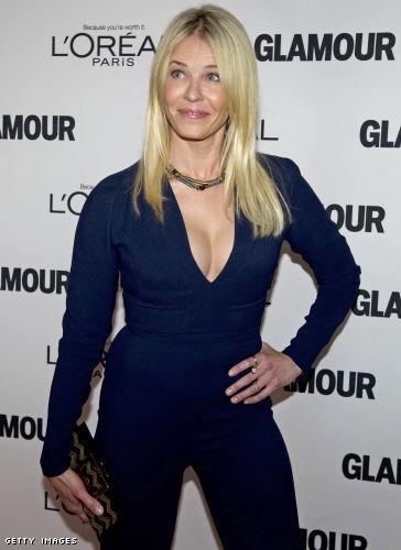 Chelsea Handler cleavage