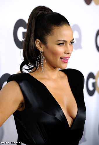 Paula Patton cleavage