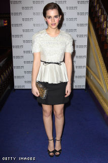 Emma wears Jason Wu @ the premiere of My Week With Marilyn