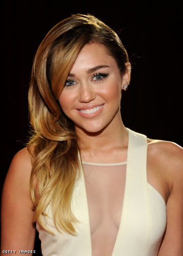 Miley Cyrus cleavage