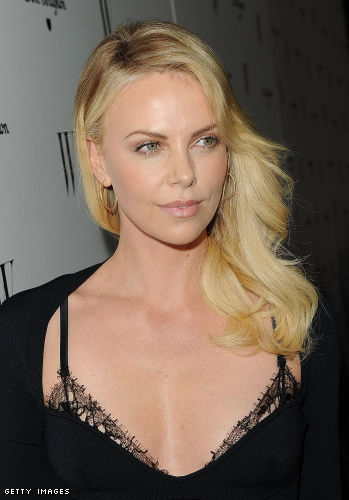 Charlize Theron cleavage