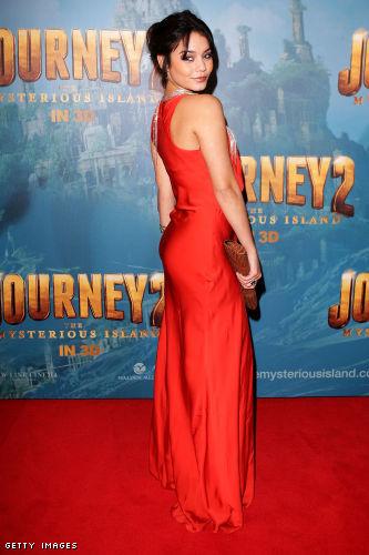 Vanessa Hudgens curves