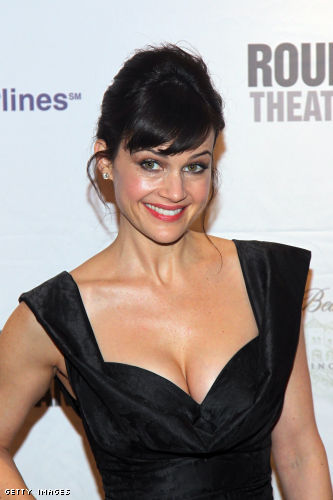 Carla Gugino cleavage