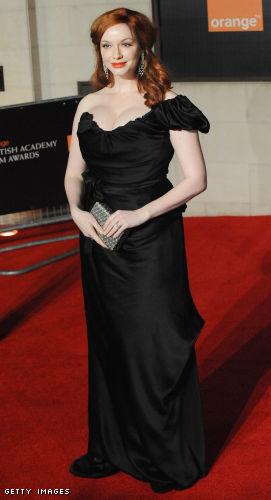 Christina Hendricks bosom