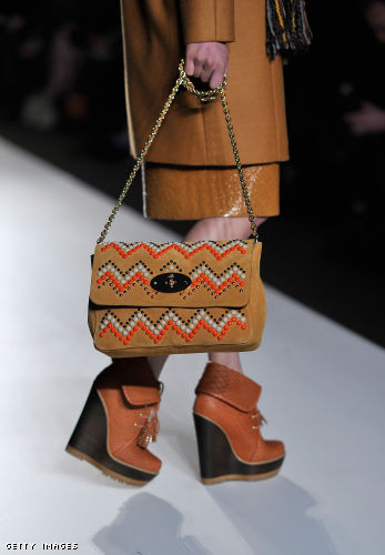 Mulberry: Runway - LFW Autumn/Winter 2012