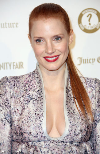 Jessica Chastain cleavage
