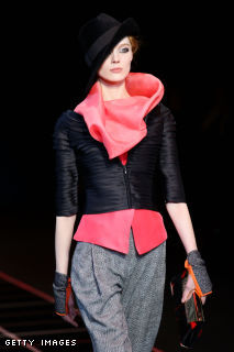 Giorgio Armani - Milan Fashion Week Womenswear Autumn/Winter 2012/2013
