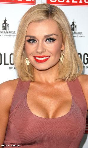 Katherine Jenkins cleavage