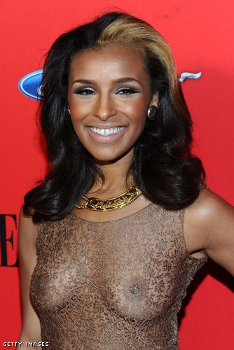 Melody Thornton boobs