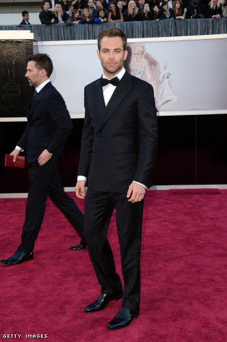 Chris Pine Style