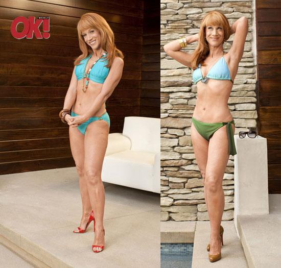Kathy Griffin Shows Off Her Bikini Body — Impressive or Too Much? | POPSUGAR Celebrity