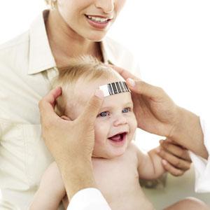 Kako bebi izmeriti temperaturu